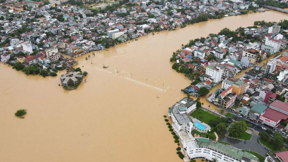 Les inondations au Vietnam atteignent un point dramatique