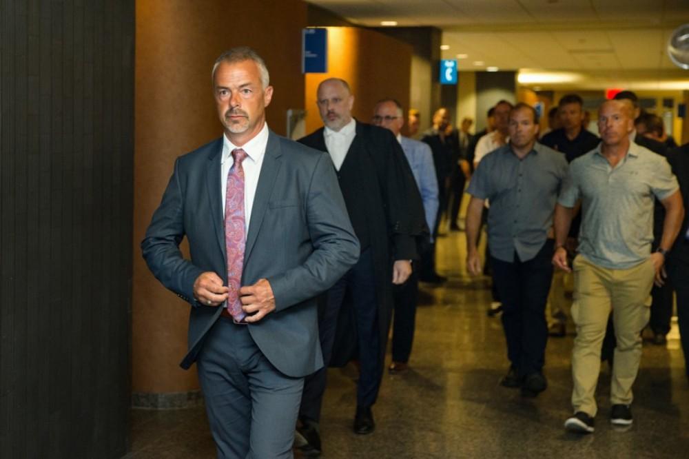 Procès d'un policier pour l'homicide involontaire de Bony Jean-Pierre