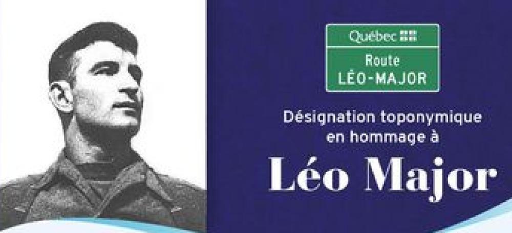 Un boulevard de Québec portera le nom de Léo Major