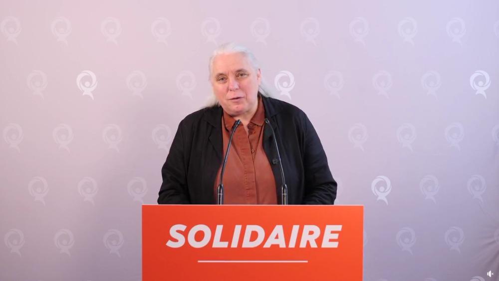 """Québec solidaire : """" Il faut apprendre les leçons de cette crise """""""