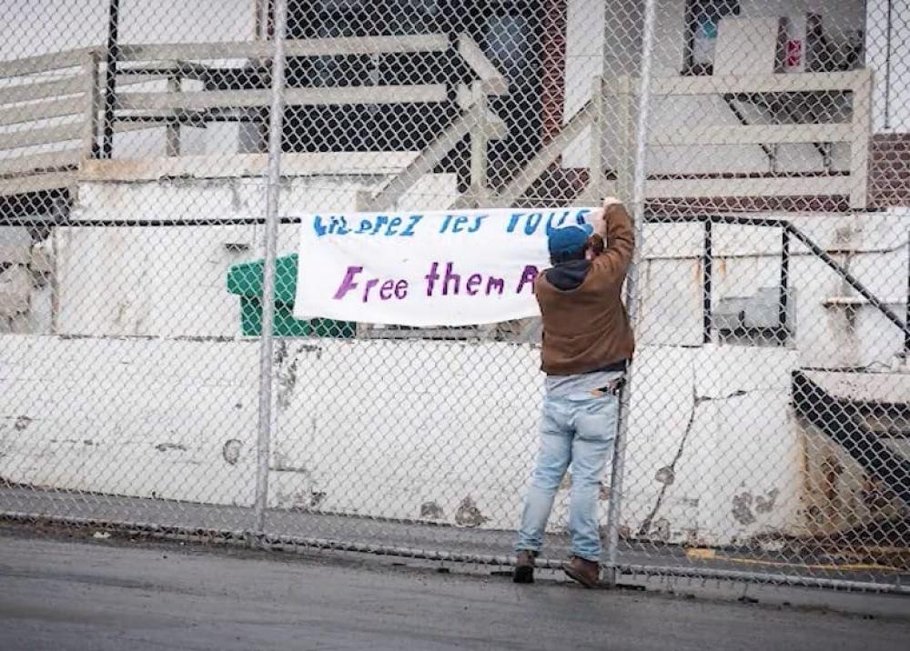 Des migrants détenus dans des conditions déplorables