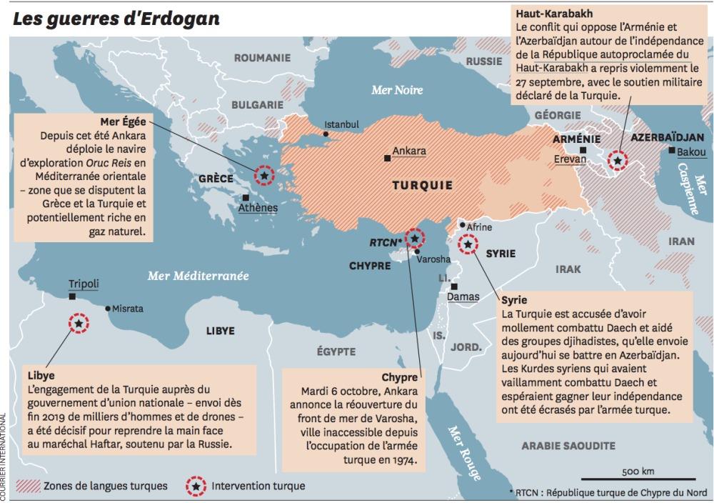 Jeu de pouvoir au Haut-Karabakh: la Turquie au cœur du conflit