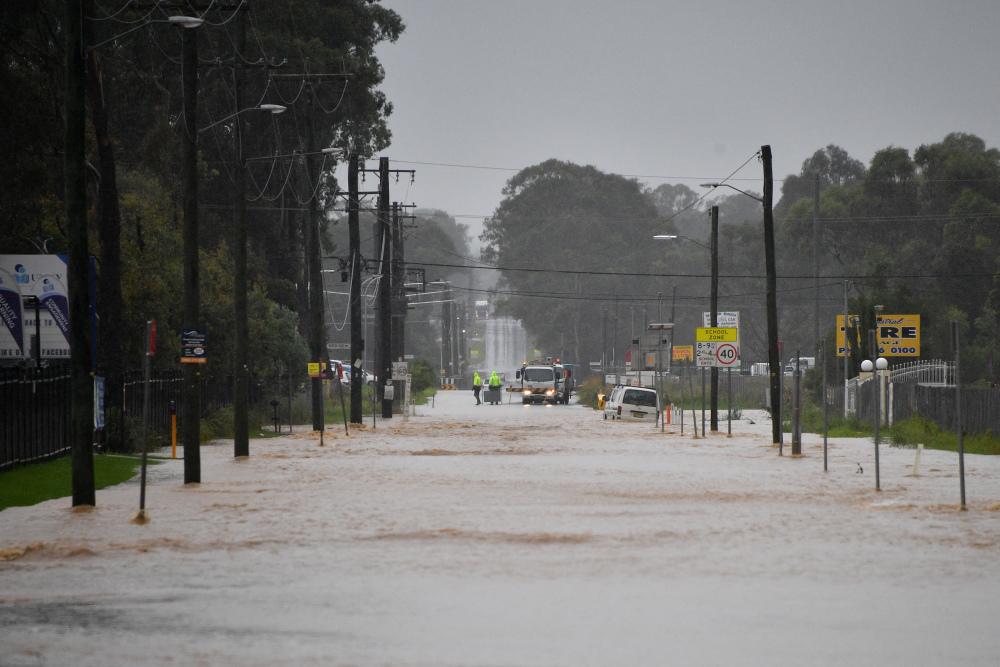 Inondations: Des milliers d'Australiens sont évacués